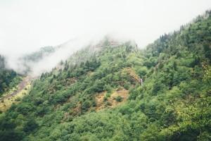 piękne krajobrazy Gruzji, Mestia